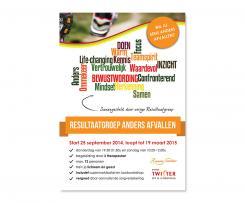 Flyer # 364018 voor A5-Flyer Resultaatgroep 'Anders Afvallen' wedstrijd
