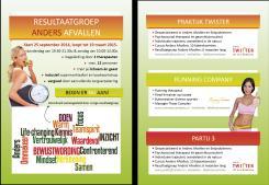 Flyer # 365210 voor A5-Flyer Resultaatgroep 'Anders Afvallen' wedstrijd