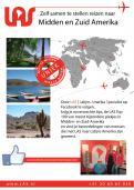 Flyer # 242548 voor Ontwerp een triggerend A6-flyer (dubbelzijdig) voor reisbureau LAS | Latijns Amerika Specialist op de 50+ beurs. wedstrijd