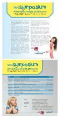 Flyer # 417836 voor Ontwerp een flyer voor een interessant symposium! wedstrijd