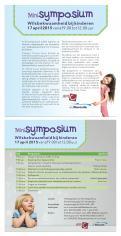 Flyer # 417841 voor Ontwerp een flyer voor een interessant symposium! wedstrijd