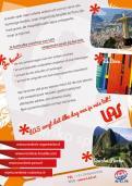 Flyer # 242623 voor Ontwerp een triggerend A6-flyer (dubbelzijdig) voor reisbureau LAS | Latijns Amerika Specialist op de 50+ beurs. wedstrijd