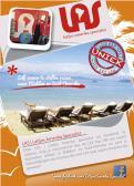Flyer # 241330 voor Ontwerp een triggerend A6-flyer (dubbelzijdig) voor reisbureau LAS | Latijns Amerika Specialist op de 50+ beurs. wedstrijd