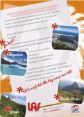 Flyer # 241331 voor Ontwerp een triggerend A6-flyer (dubbelzijdig) voor reisbureau LAS | Latijns Amerika Specialist op de 50+ beurs. wedstrijd
