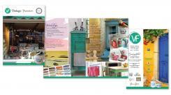 Flyer # 354952 voor Ontwerp een brochure voor een Vintage Lifestyle winkel wedstrijd