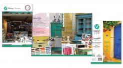 Flyer # 353584 voor Ontwerp een brochure voor een Vintage Lifestyle winkel wedstrijd