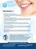 Flyer # 1066097 voor Flyer voor tandartspraktijk wedstrijd