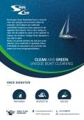 Flyer, tickets # 929065 for Design a cool, but also chic flyer for a boat cleaning company. (Simply Clean) contest