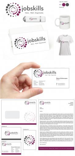 Huisstijl # 379652 voor Huisstijl voor een frisse organisatie, Jobskills Mens. Werk. Organisatie!  wedstrijd
