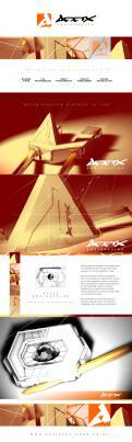Huisstijl # 1019407 voor Hightech robot  vision  AI design wedstrijd