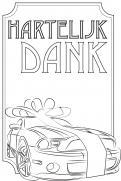 Visitekaartje # 264364 voor lijntekening voor cadeau bij aankoop auto wedstrijd