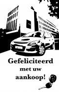 Visitekaartje # 268137 voor lijntekening voor cadeau bij aankoop auto wedstrijd