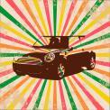 Visitekaartje # 231549 voor retro opdruk voor shirt over auto / motoren wedstrijd