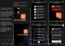 iPhone App design # 164121 voor New Ios App design for existing app 'Nieuwslezer' wedstrijd
