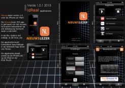 iPhone App design # 164915 voor New Ios App design for existing app 'Nieuwslezer' wedstrijd