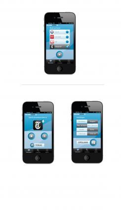 iPhone App design # 163487 voor New Ios App design for existing app 'Nieuwslezer' wedstrijd