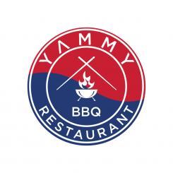 Logo # 1084537 voor ontwerp een horeca logo voor een nieuw te openen asian korean bbq restaurant wedstrijd