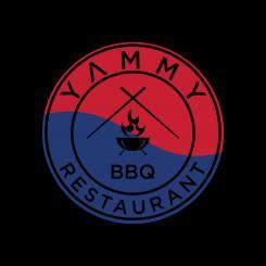 Logo # 1084538 voor ontwerp een horeca logo voor een nieuw te openen asian korean bbq restaurant wedstrijd