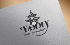Logo # 1088774 voor ontwerp een horeca logo voor een nieuw te openen asian korean bbq restaurant wedstrijd