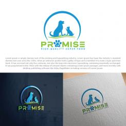 Logo design # 1193124 for promise dog and catfood logo contest