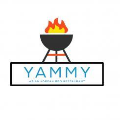 Logo # 1084265 voor ontwerp een horeca logo voor een nieuw te openen asian korean bbq restaurant wedstrijd