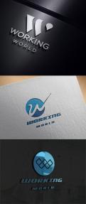 Logo # 1165525 voor Logo voor uitzendbureau Working World wedstrijd