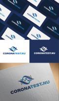 Logo # 1112214 voor logo Coronatest nu wedstrijd