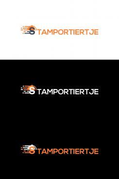 Logo # 1126305 voor Logo voor maaltijd bezorgservice van Cafe 't Portiertje wedstrijd