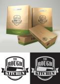 Logo # 381996 voor Logo stoer streetfood concept: The Rough Kitchen wedstrijd