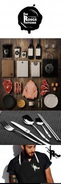 Logo # 383541 voor Logo stoer streetfood concept: The Rough Kitchen wedstrijd