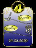 Logo # 978026 voor Ontwerp een elegant logo voor onze bruiloft! wedstrijd