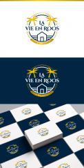 Logo # 1140837 voor Ontwerp een romantisch  grafisch logo voor B B La Vie en Roos wedstrijd