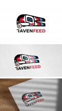 Logo design # 1142952 for RavenFeed logo design invitation contest