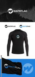 Logo design # 1204452 for logo for water sports equipment brand  Watrflag contest