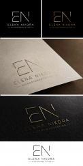 Logo # 1038428 voor Create a new aesthetic logo for Elena Nikora  micro pigmentation specialist wedstrijd