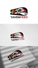Logo design # 1142971 for RavenFeed logo design invitation contest