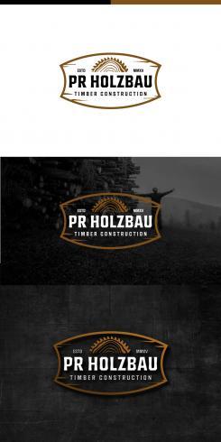 Logo  # 1161835 für Logo fur das Holzbauunternehmen  PR Holzbau GmbH  Wettbewerb