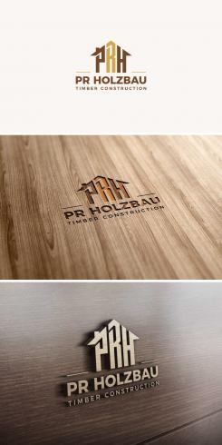 Logo  # 1160941 für Logo fur das Holzbauunternehmen  PR Holzbau GmbH  Wettbewerb