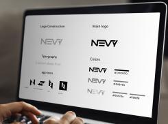 Logo # 1235081 voor Logo voor kwalitatief   luxe fotocamera statieven merk Nevy wedstrijd