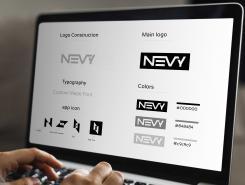 Logo # 1236089 voor Logo voor kwalitatief   luxe fotocamera statieven merk Nevy wedstrijd