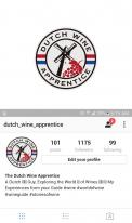Logo # 1066966 voor Logo  plus social  voor Wine Blogger wedstrijd