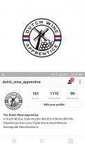 Logo # 1063566 voor Logo  plus social  voor Wine Blogger wedstrijd