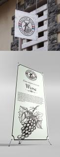 Logo # 1063871 voor Logo  plus social  voor Wine Blogger wedstrijd