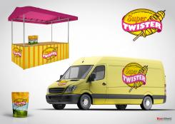Logo # 391696 voor Ontwerp een hip logo voor de nieuwste aardappelsnack genaamd Super Twister wedstrijd