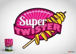Logo # 392010 voor Ontwerp een hip logo voor de nieuwste aardappelsnack genaamd Super Twister wedstrijd