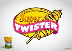 Logo # 391518 voor Ontwerp een hip logo voor de nieuwste aardappelsnack genaamd Super Twister wedstrijd