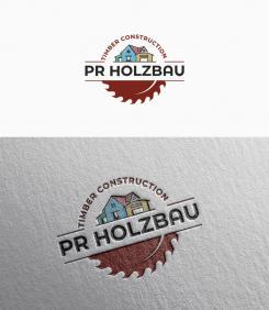 Logo  # 1166705 für Logo fur das Holzbauunternehmen  PR Holzbau GmbH  Wettbewerb