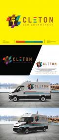 Logo # 1250472 voor Ontwerp een kleurrijke logo voor Cleton Schilderwerken! wedstrijd