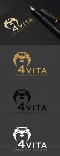 Logo design # 1213090 for 4Vita coaches gifted children  highly intelligent   their parents and schools contest
