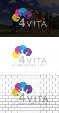 Logo design # 1213524 for 4Vita coaches gifted children  highly intelligent   their parents and schools contest